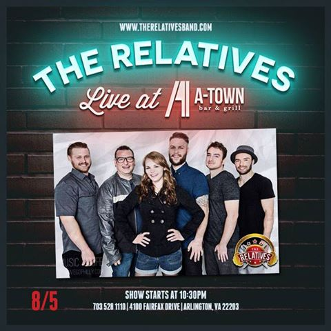 The Relatives Band at A-Town
